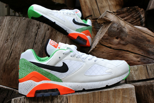 nike air max 180 green safari high heels
