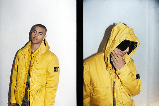 best service caf75 25059 ... capsule collection made with Italian outerwear royalty Stone Island.  stoneislandsupreme1