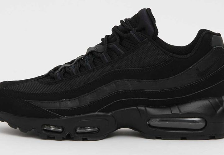 Wellgosh | Trainer of The Week | Nike Air Max 95 Black/Black