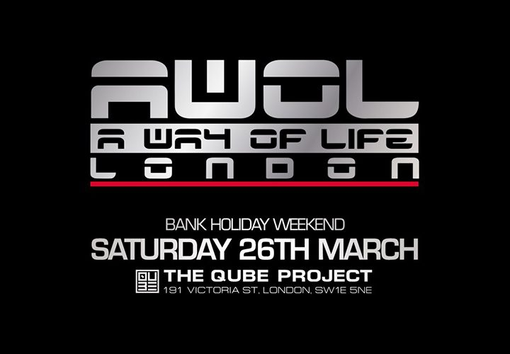 WIN | Tickets to AWOL at The Qube Project | 26 March