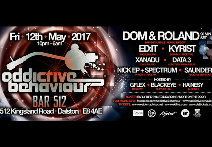 WIN | VIP Tickets to Addictive Behaviour + Vinyl & Merch | 12 May